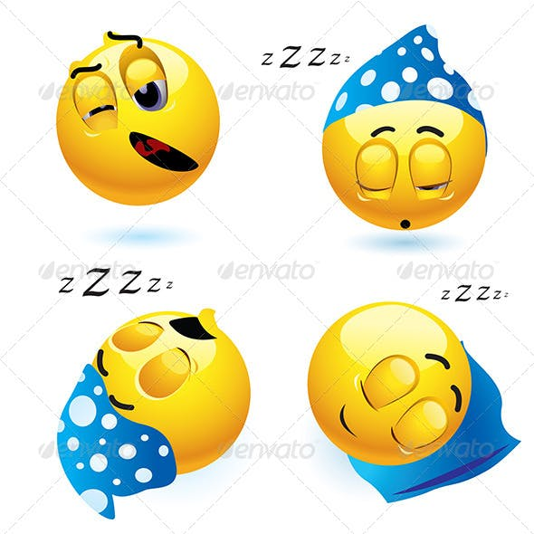 Sleeping Smileys