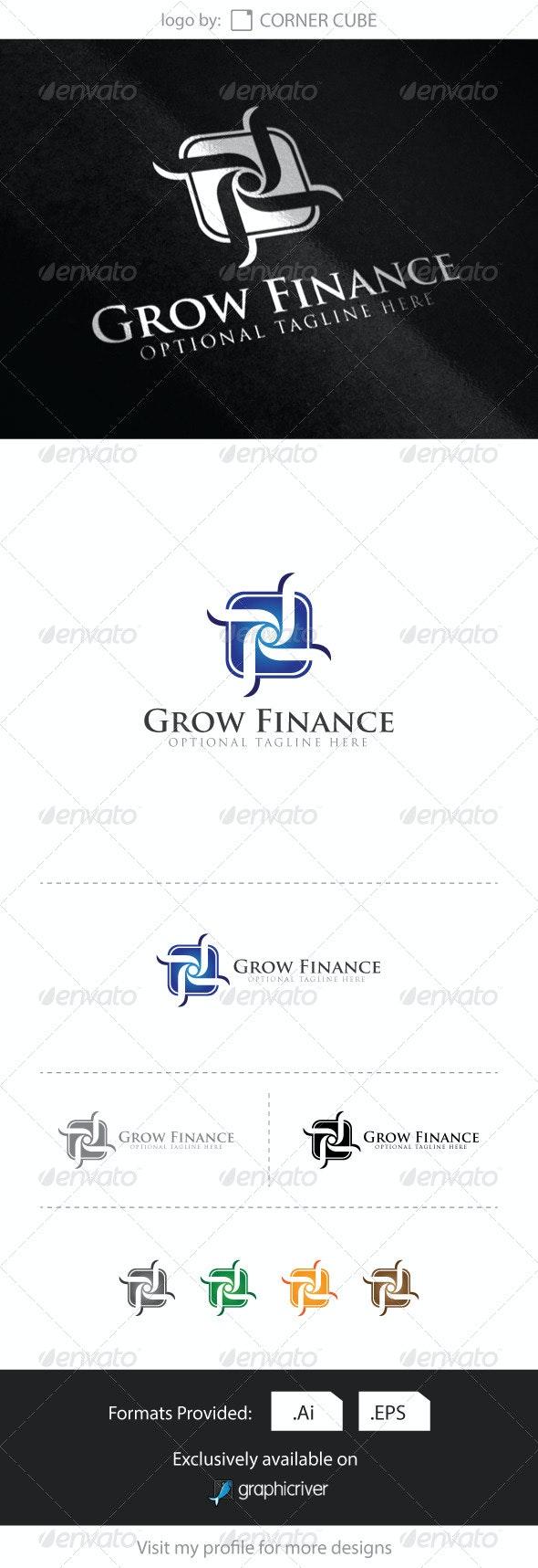 Grow Financial Logo - Logo Templates
