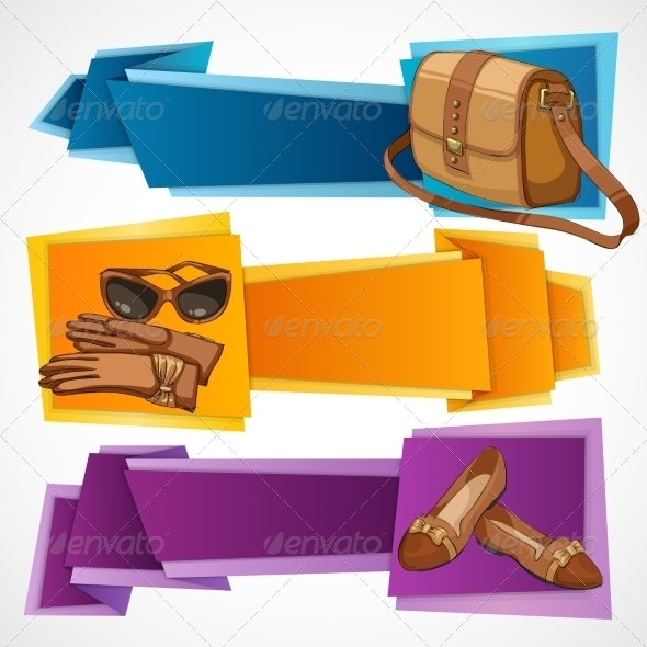 Fashion Banners Set - Retail Commercial / Shopping