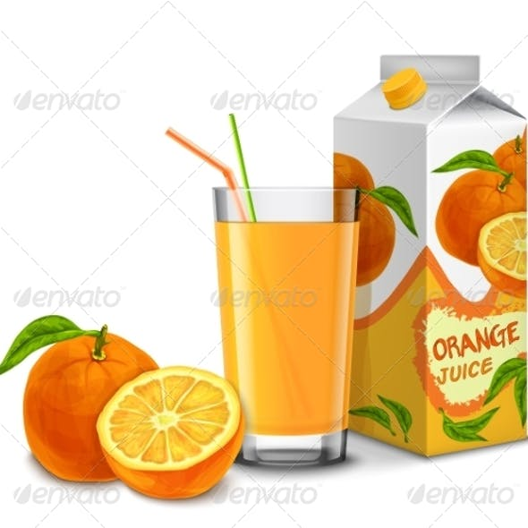 Orange Juice Set
