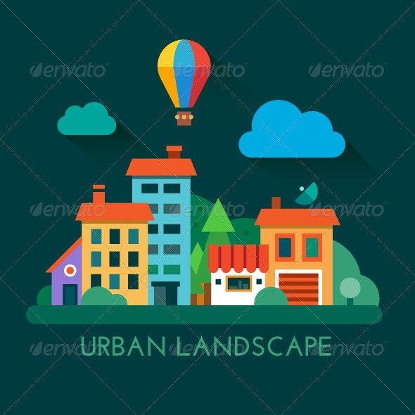 Urban Landscape - Landscapes Nature