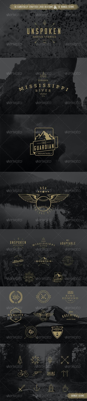 16 Badge Vector Pack - Decorative Symbols Decorative