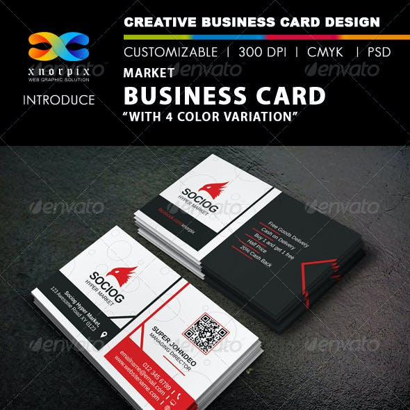 Market Business Card
