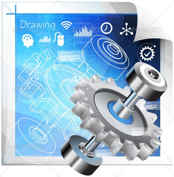 Technical Planning Concept - Illustration - Technology Conceptual