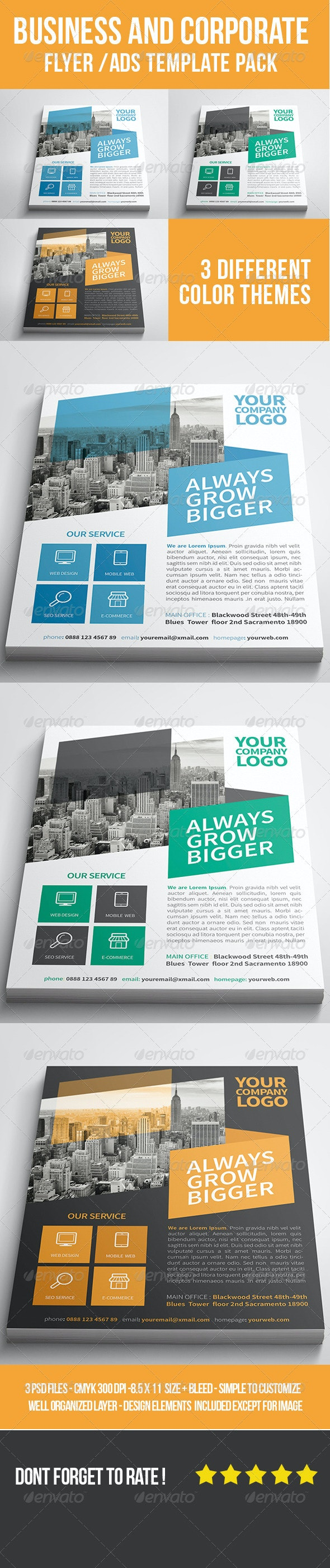 Business and Corporate Flyer/Ads - Corporate Flyers