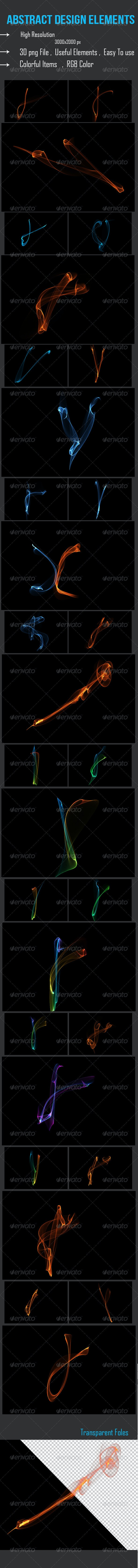 Abstract Design Elements  - Miscellaneous Backgrounds