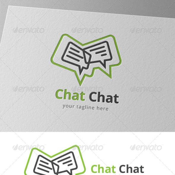 Speak Chat Bubble Logo