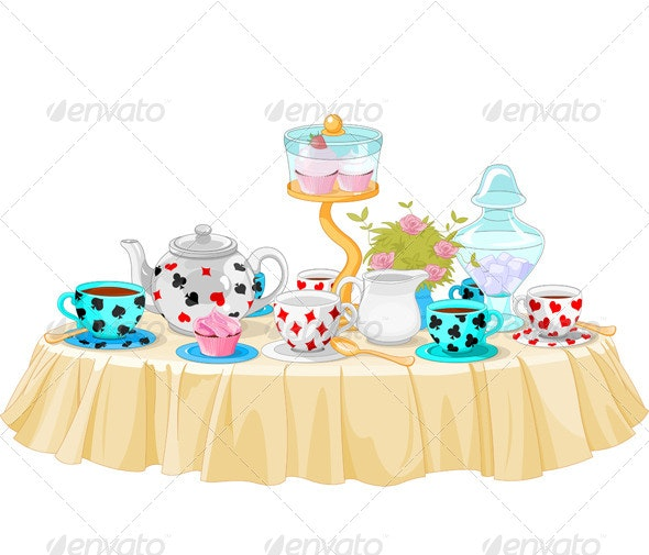 Tea Party - Food Objects