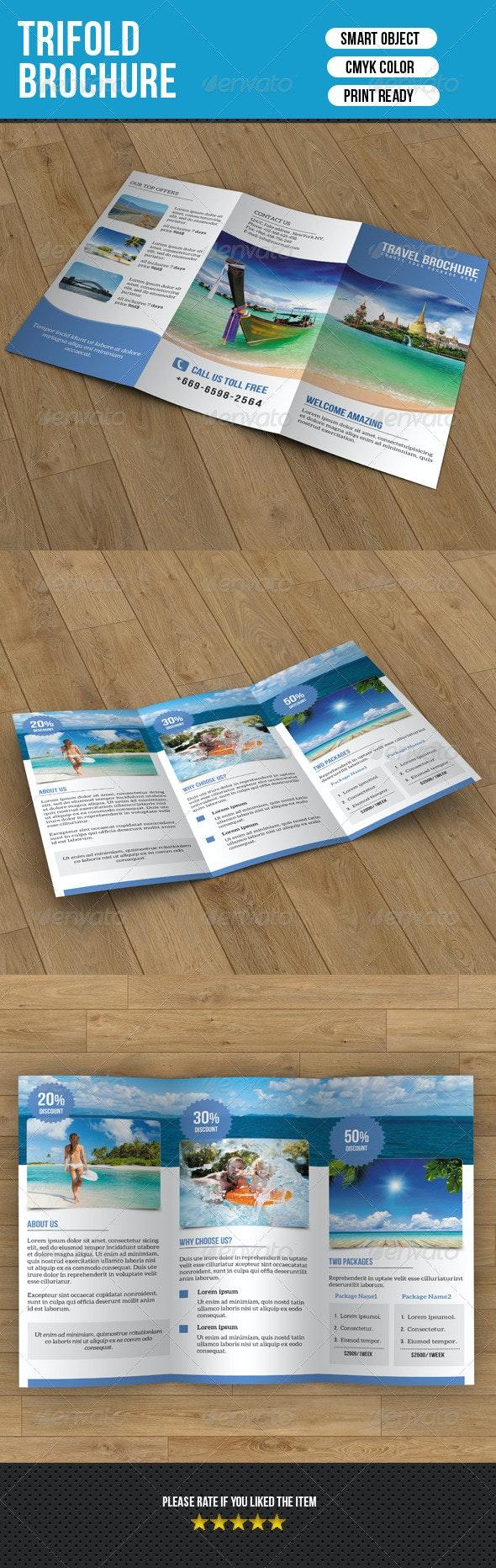 Travel Trifold Brochure-V52 - Corporate Brochures