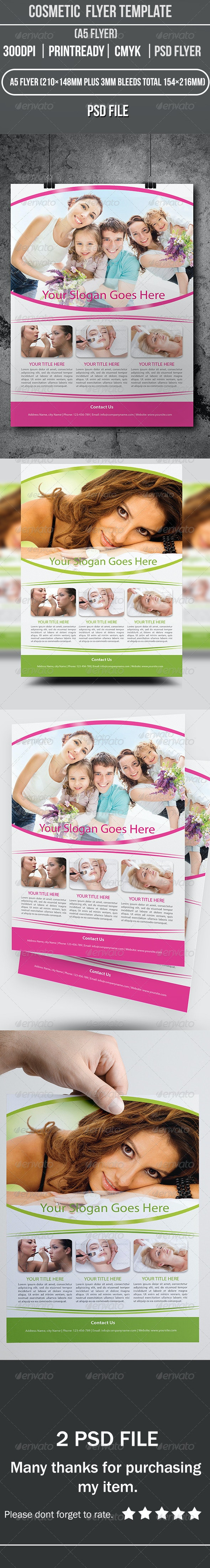 Cosmetic  Flyer Template - Commerce Flyers