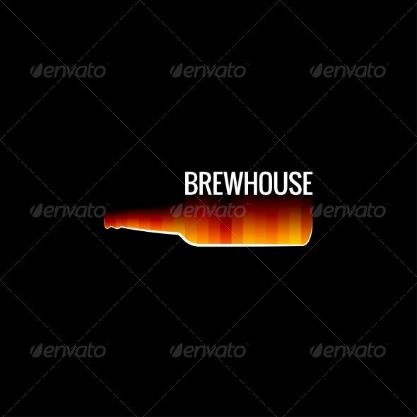 Beer Glass Fire Design - Food Objects