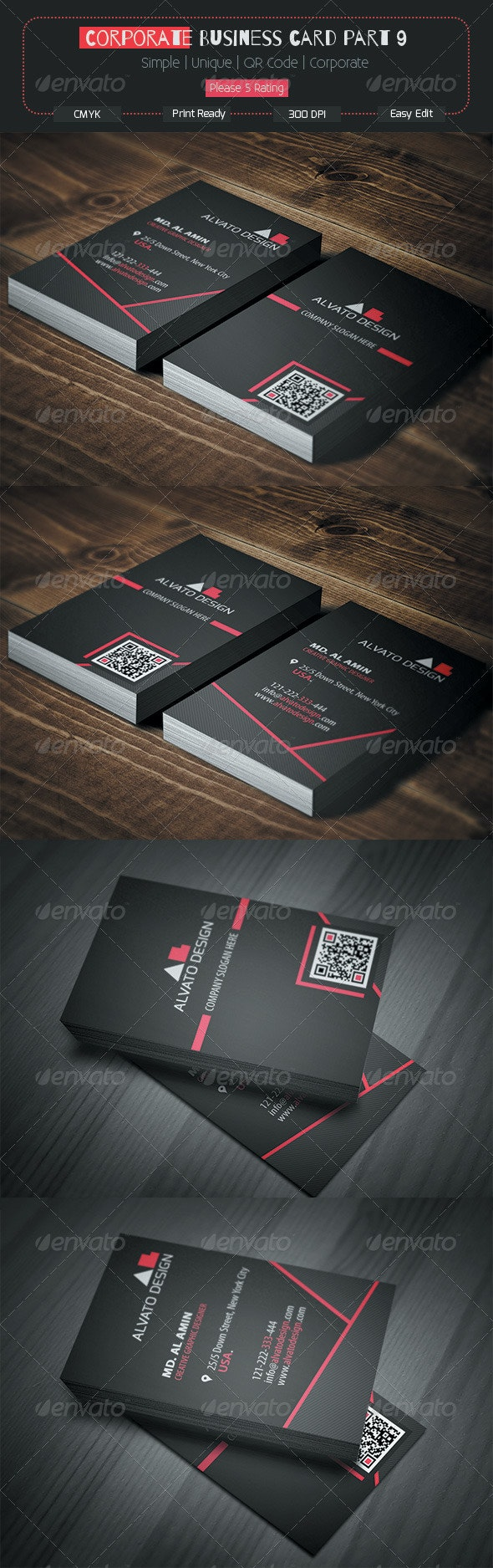 Corporate Business Card Part 9 - Corporate Business Cards