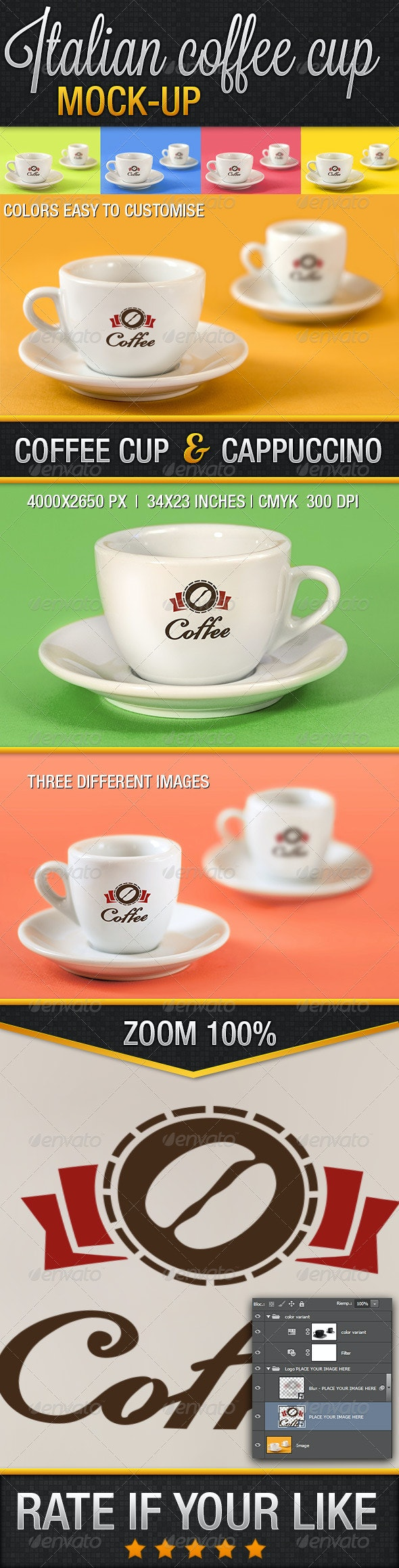 Italian Coffee Cup 02 - Food and Drink Packaging