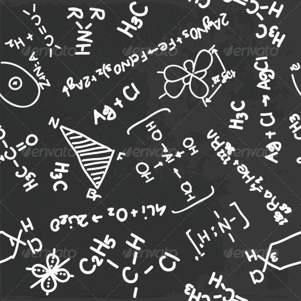 Chemistry Pattern - Patterns Decorative