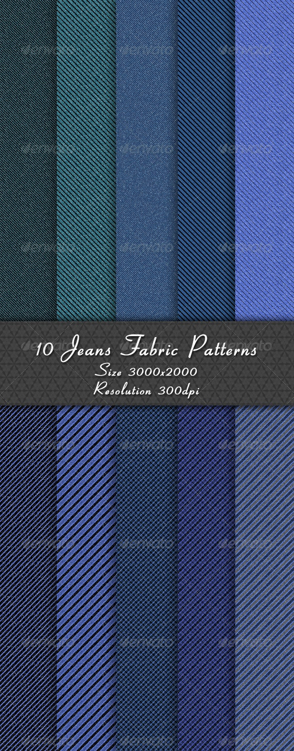 10 Jeans Fabric Patterns - Patterns Backgrounds
