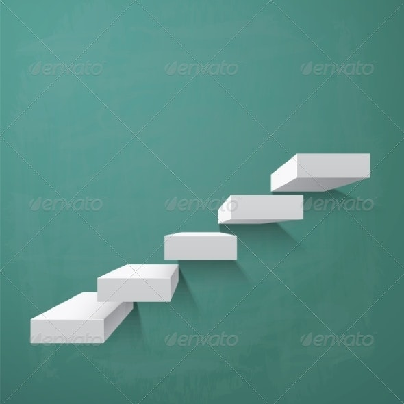 Abstract Background with Steps  - Backgrounds Decorative