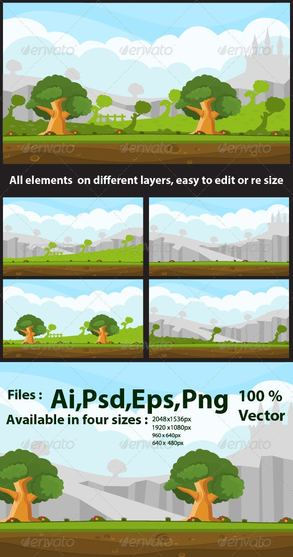 Adventure Game Background - Backgrounds Game Assets