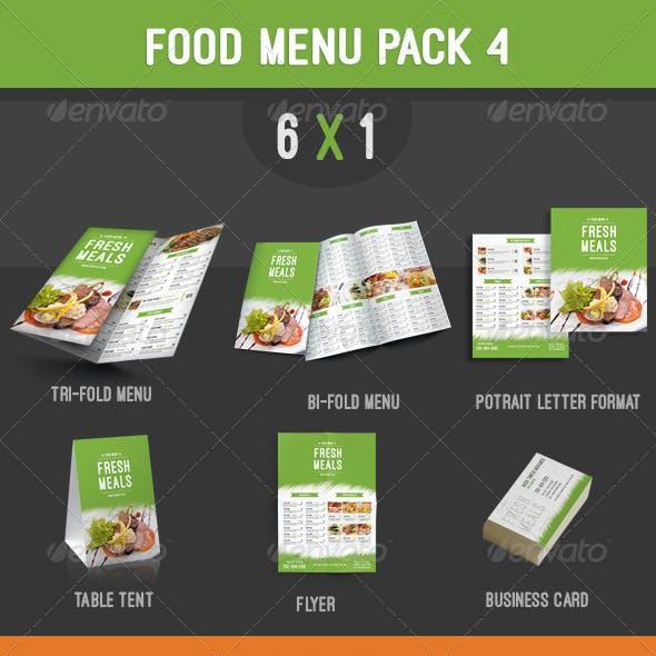 Food Menu Pack 4