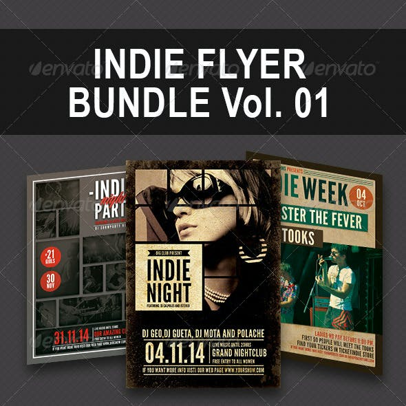 Indie Bundle Flyer Vol. 01