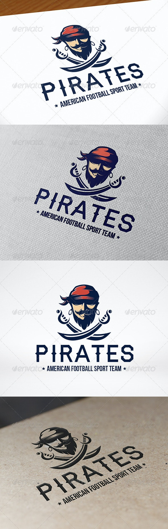 Pirate Sword Logo Template - Humans Logo Templates