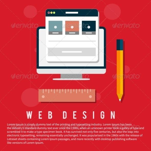 Web Design Concept - Web Technology