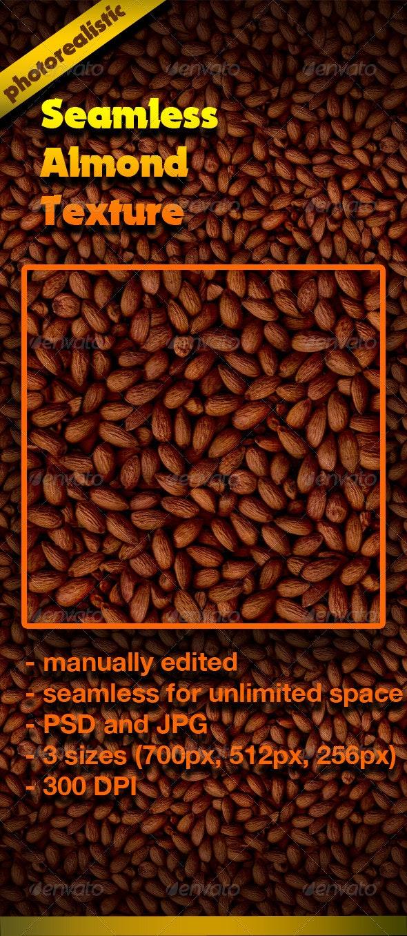 Seamless Almond Texture - Nature Textures