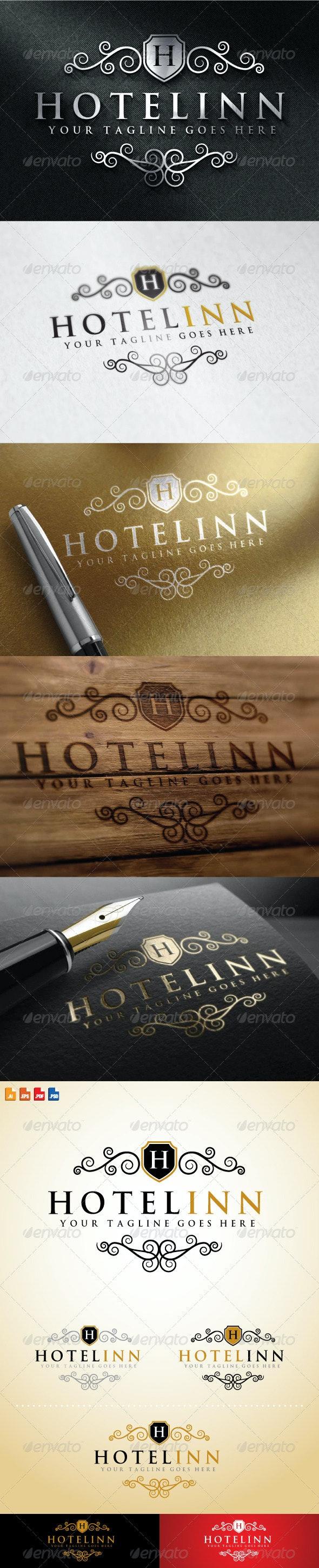 Hotel Inn Logo - Crests Logo Templates