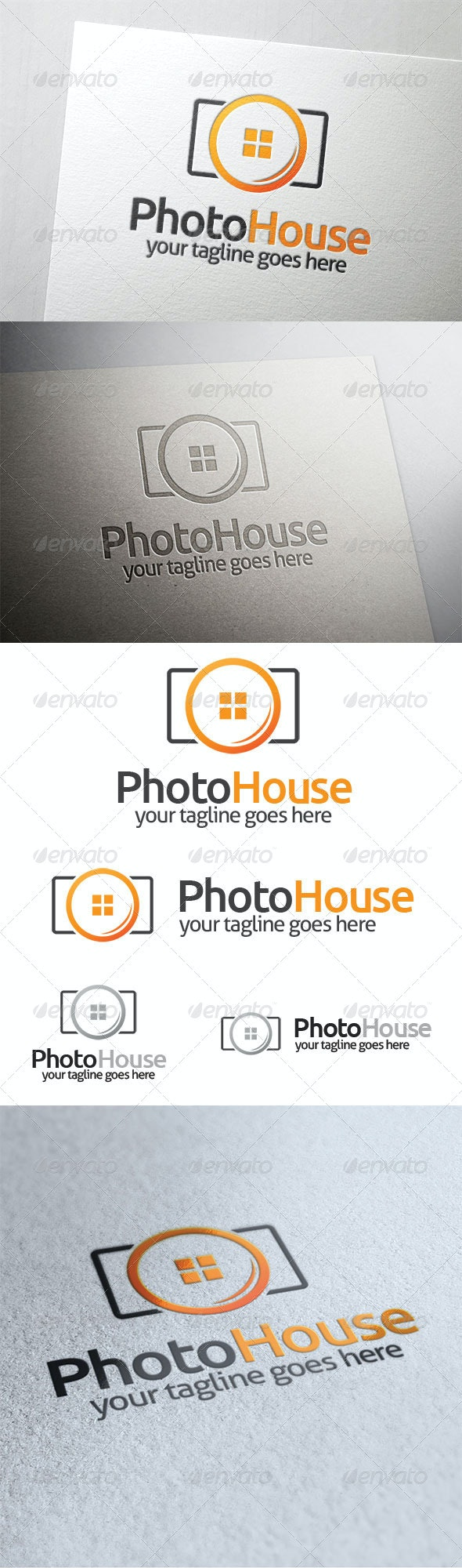 Photo House - Symbols Logo Templates