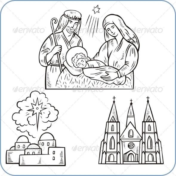 Biblical Scene  - Religion Conceptual