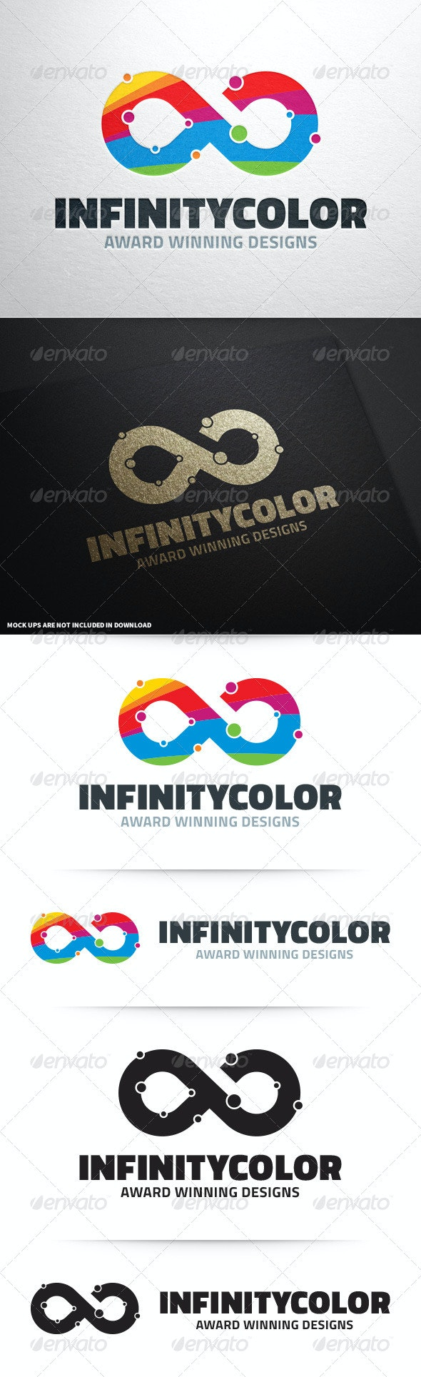 Infinity Color Logo Template - Symbols Logo Templates
