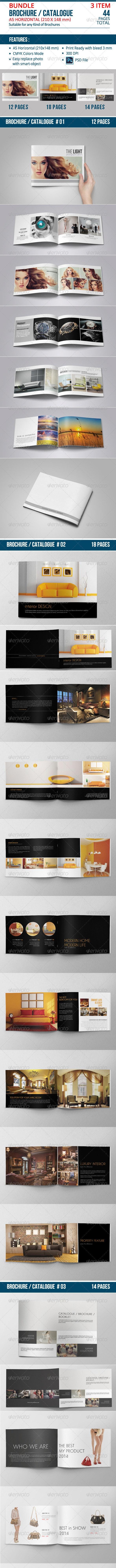 Catalogue / Brochure Bundle Vol. 04 - Catalogs Brochures