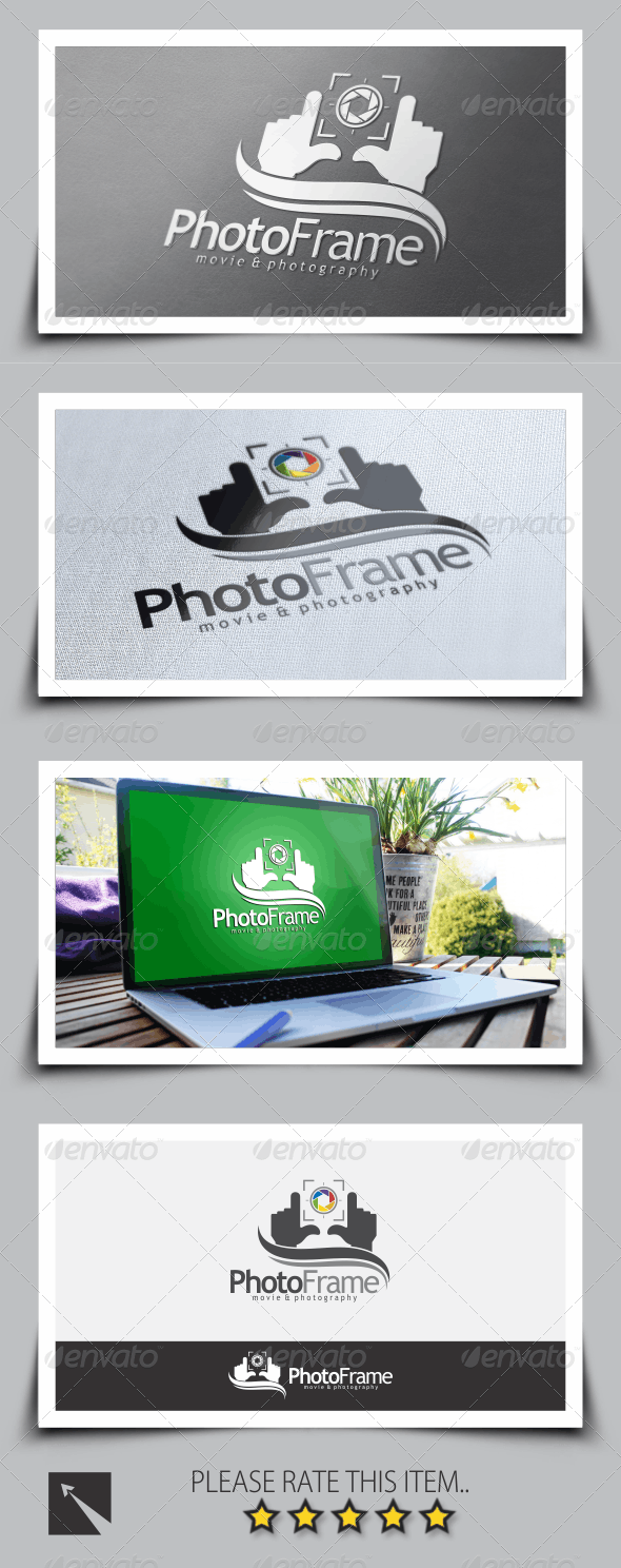 Photo Frame Logo Template - Symbols Logo Templates