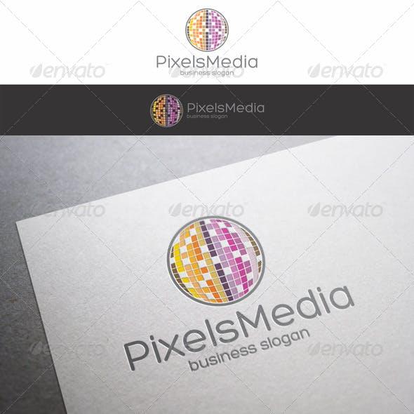 Pixels Media Logo