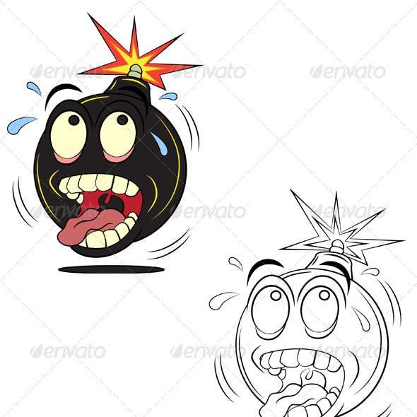 Panic Bomb Vector