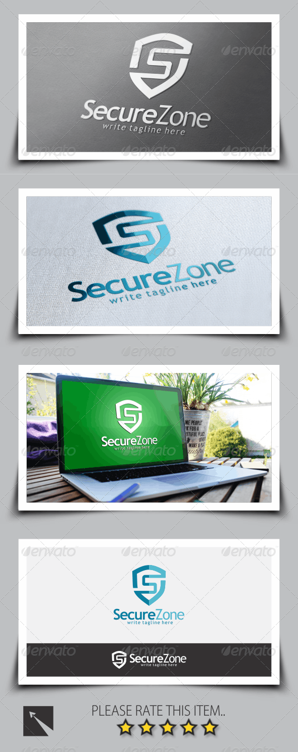 Security Letter (S) Logo Template - Letters Logo Templates