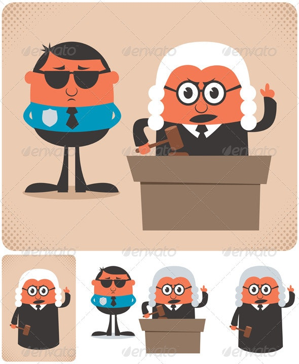 Judge - People Characters