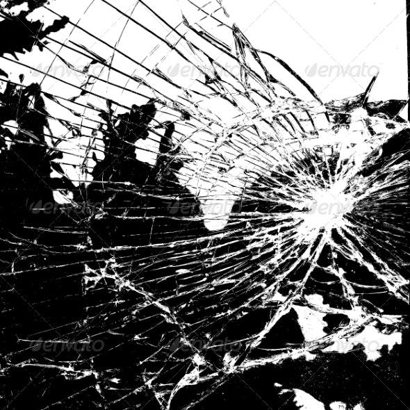Broken Glass - Backgrounds Decorative