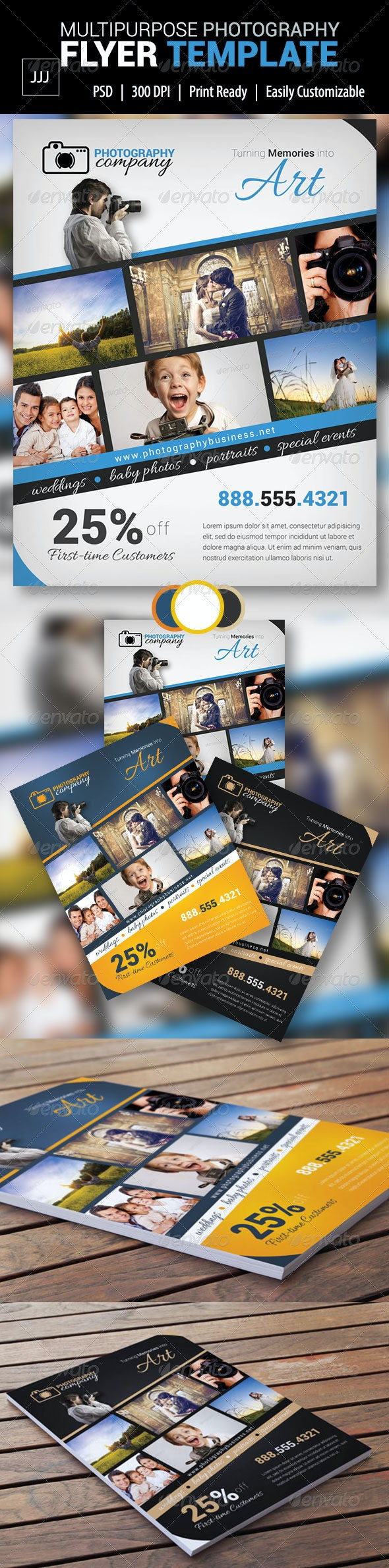 Photography Business Flyer 8 - Corporate Flyers