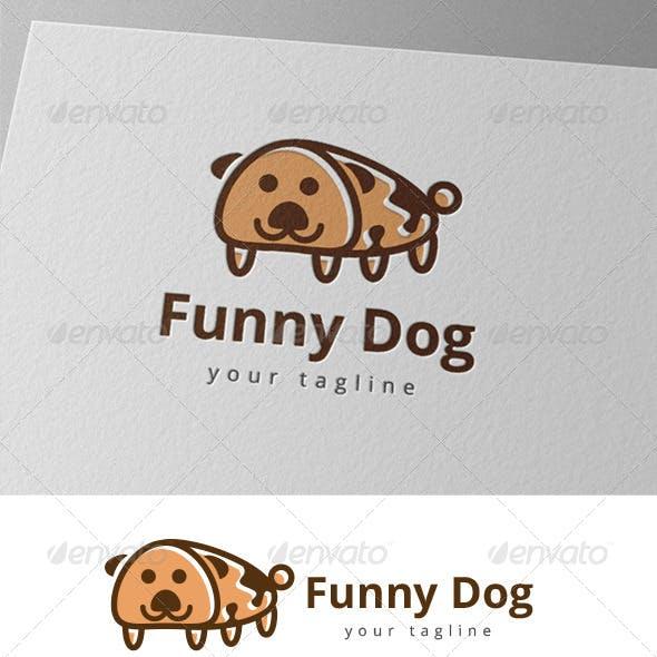 Funny Pet Dog Logo