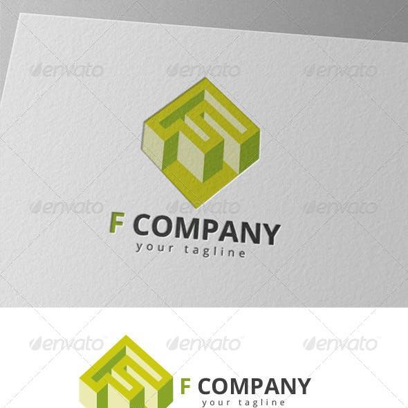 F Diamond - Letter F Logo