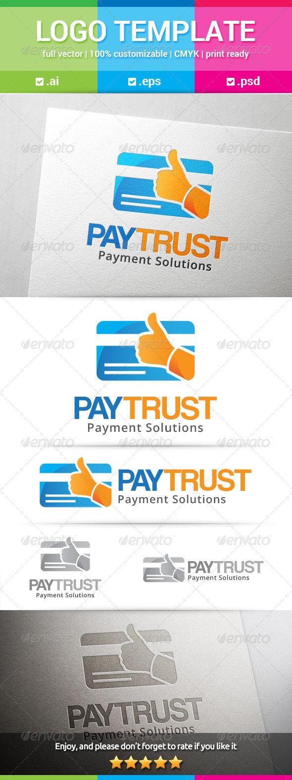 Pay Trust Logo - Objects Logo Templates