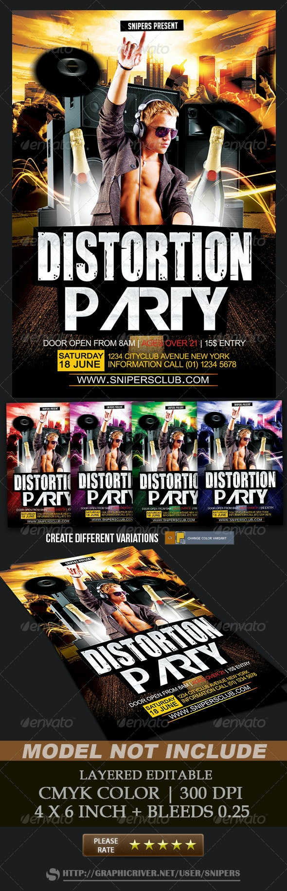 Distortion Party - Clubs & Parties Events