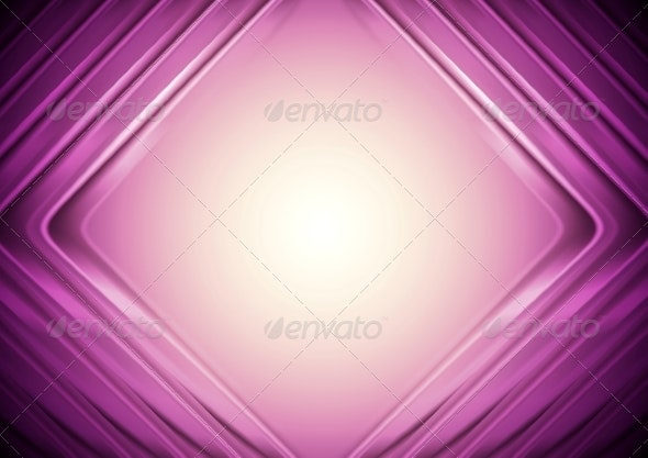Bright Tech Vector Background - Abstract Conceptual