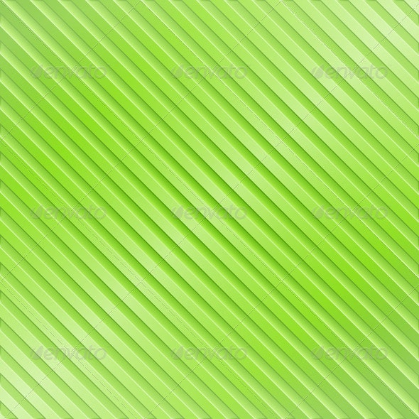 Green Striped Background - Backgrounds Decorative
