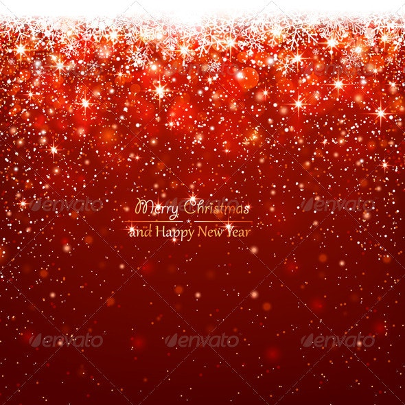 Christmas Red Background - Christmas Seasons/Holidays