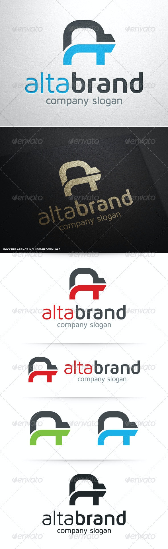 Alta Brand - Letter A Logo - Letters Logo Templates