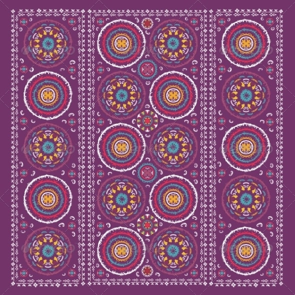 Oriental Ornaments - Flourishes / Swirls Decorative