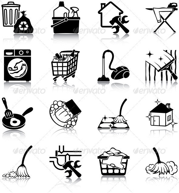 Housekeeping - Miscellaneous Icons