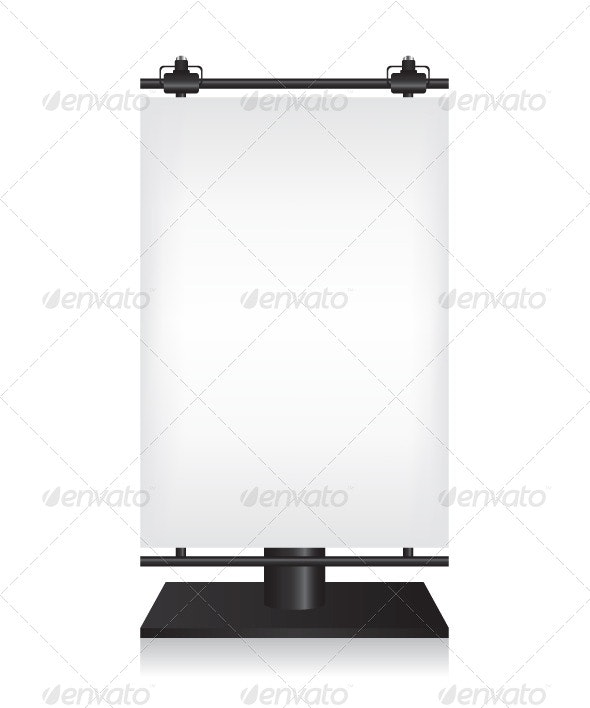 Billboard on White Background - Concepts Business