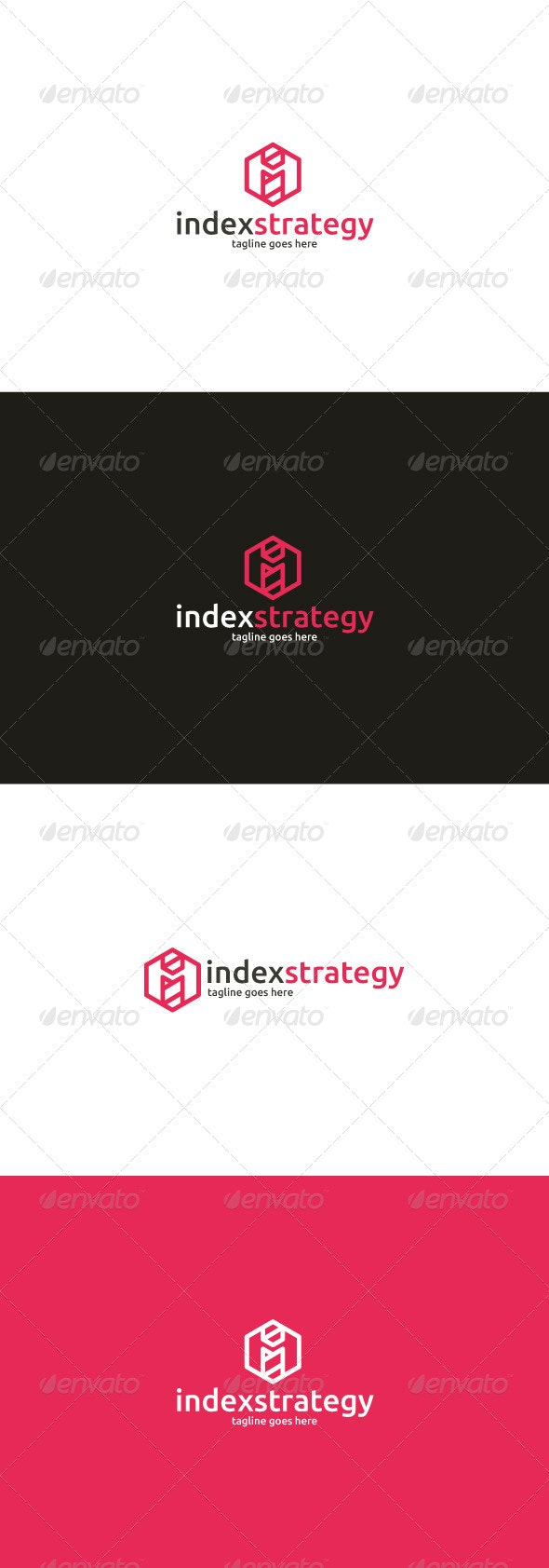 Index Strategy Logo — Letter I - Letters Logo Templates